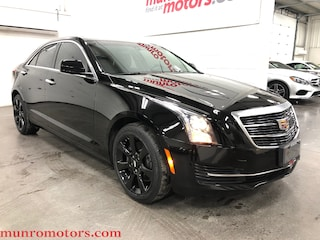 2016 Cadillac ATS AWD Apple Car Play Sunroof Black WHeels Sedan