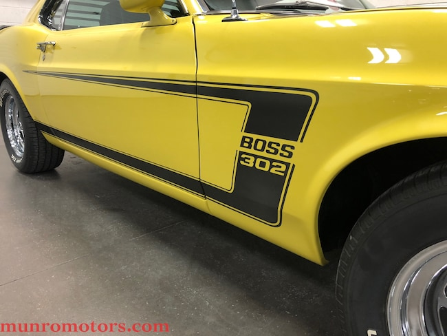 1969 Ford Mustang SOLD SOLD SOLD BOSS 302 ROTISSERIE RESTORATION Coupe