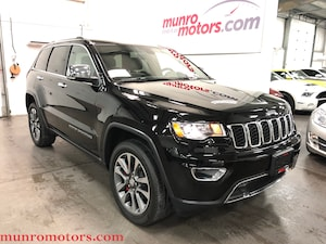 2018 Jeep Grand Cherokee Limited Sunroof NAV Htd Seats/Steering Wheel SUV