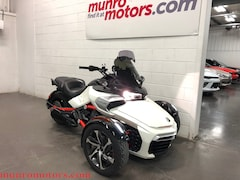 2015 CAN-AM Spyder  F3-S  SE6 Cruise Auto Low Kms