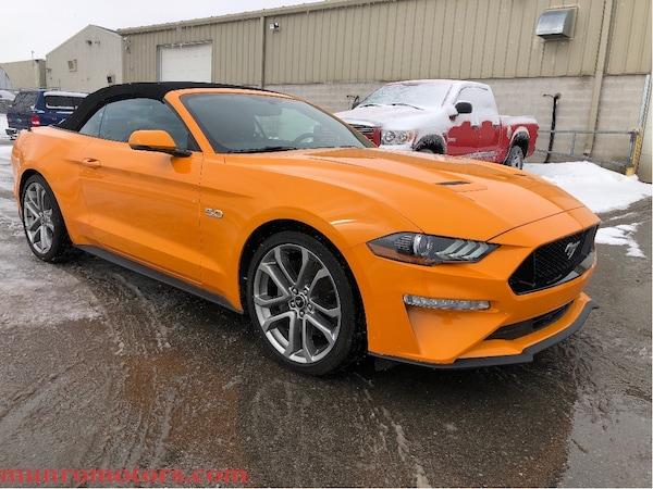 2018 Ford Mustang GT Premium Orange Fury NAV 10 Speed Auto