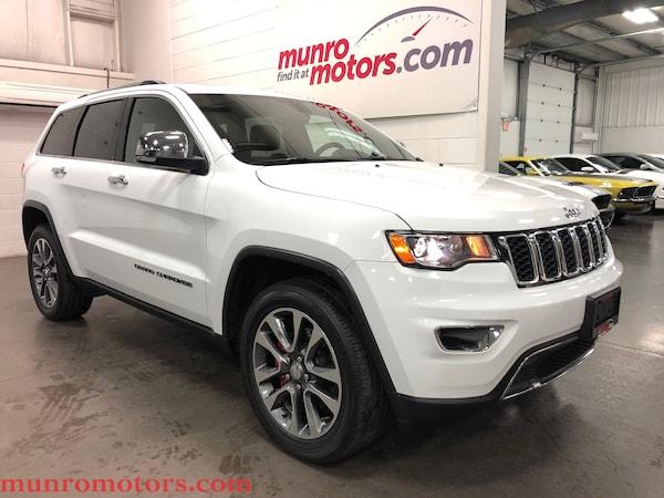 2018 Jeep Grand Cherokee Limited Sunroof NAV Htd Steering Wheel and Seats