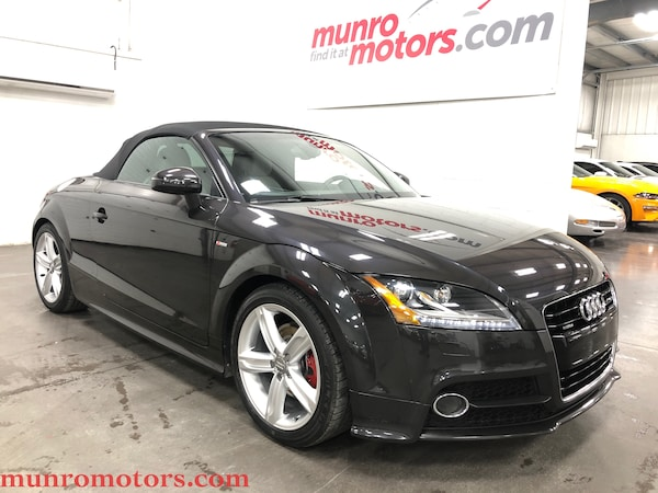 2014 Audi TT 2.0T S Line Competition Auto Low KMs Cabriolet