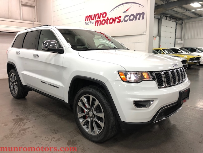 2018 Jeep Grand Cherokee Limited Sunroof NAV Htd Steering Wheel and Seats SUV