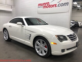 2004 Chrysler Crossfire Red Leather Automatic Clean Carproof FUN!! Coupe