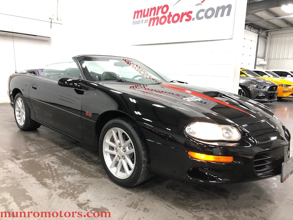 2001 Chevrolet Camaro Z28 SS Convertible 1 of 6 SLP Canadian Cars