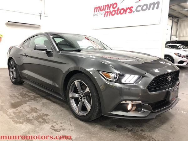 2015 Ford Mustang EcoBoost Premium Navigation 6 Speed Manual