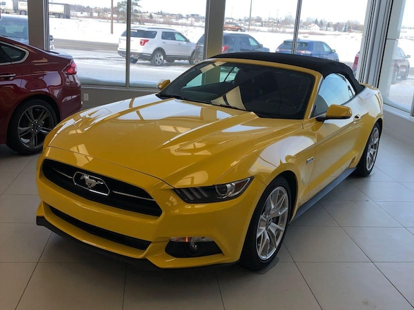 2015 Ford Mustang SOLD SOLD SOLD GT 50th Anniversary Convertible