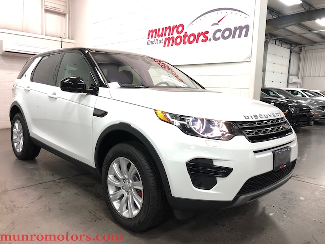 2018 Land Rover Discovery Sport SE Navigation Cold Climate Package SUV
