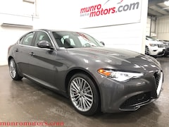 2017 Alfa Romeo Giulia Lusso Ti Q4 AWD Sunroof Navigation Sedan