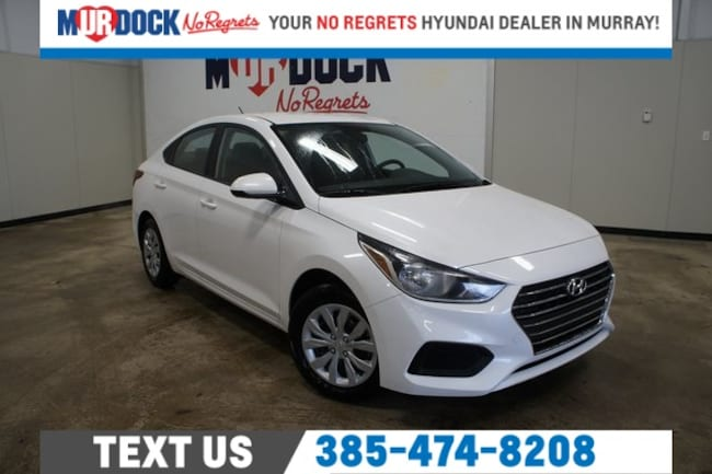 New 2019 Hyundai Accent SE Sedan near Salt Lake City