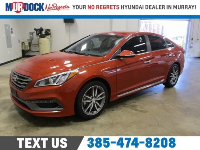 Used 2015 Hyundai Sonata Sport 2.0T w/Gray Accents Sedan near Salt Lake City