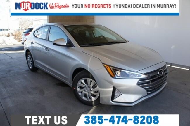 New 2019 Hyundai Elantra SE Sedan near Salt Lake City