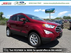 New 2019 Ford EcoSport SE Crossover for sale in Chester, PA