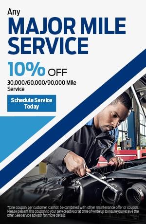 Any Major Mile Service