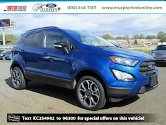 New 2019 Ford EcoSport SES Crossover for sale in Chester, PA
