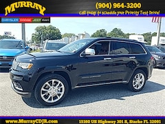 New 2020 Jeep Grand Cherokee SUMMIT 4X4 Sport Utility for sale in starke florida