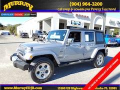 Used 2015 Jeep Wrangler Unlimited Sahara SUV for sale in Starke, FL