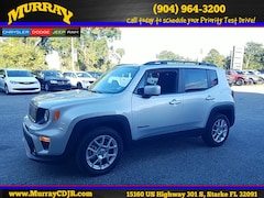 New 2019 Jeep Renegade LATITUDE FWD Sport Utility for sale in starke florida