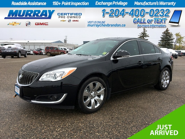2016 Buick Regal Premium II AWD *FWD Collision & Blind Side* *Lane Change* *Nav* *Backup Cam* *Heat Leather* *Projection* Sedan