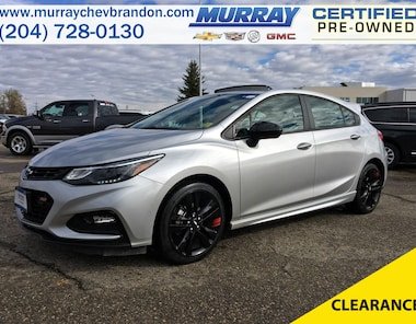 2018 Chevrolet Cruze LT RS FWD *Backup Cam* *Projection* *Wifi* *Heat C Hatchback