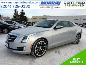 2016 CADILLAC ATS Luxury Collection AWD *Nav* *Lane Keep* *Projection* *Backup Cam* *Heat Leather*