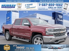 2018 Chevrolet Silverado 1500 **Heated/Cooled Seats! Leather Steering Wheel!** Truck Crew Cab