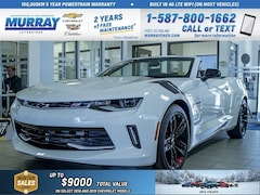 2018 Chevrolet Camaro **Leather Wrapped Steering Wheel!  Heated Seats!** Convertible