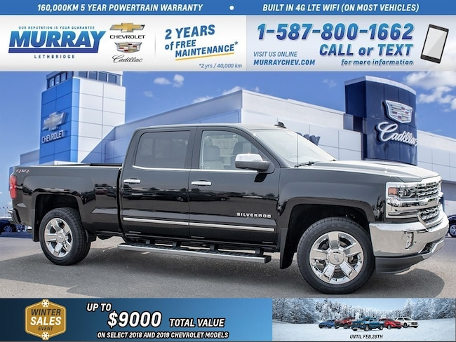 2018 Chevrolet Silverado 1500 **Sport Package!  Heated/Cooled Seats!  Running Bo Truck Crew Cab