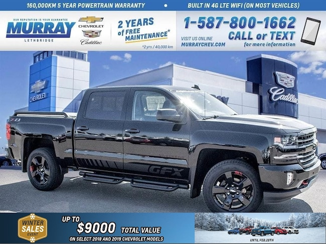 2018 Chevrolet Silverado 1500 **Heated/Cooled Seats!  Sunroof!** Truck Crew Cab