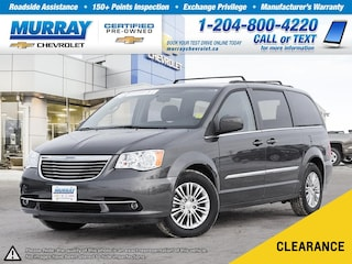 2016 Chrysler Town & Country Touring-L *Bluetooth, Heated Leather Seats* Van