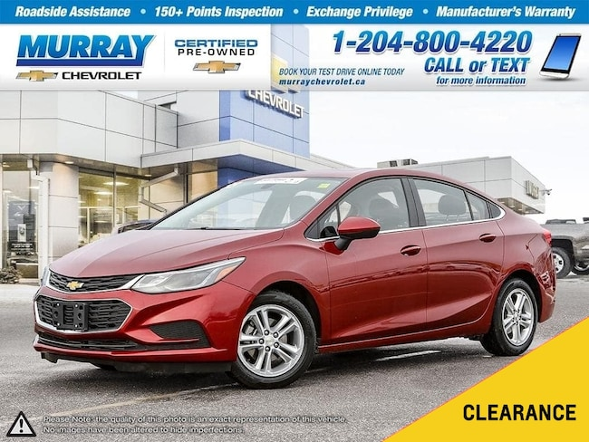 2018 Chevrolet Cruze LT Auto *Bluetooth,Rear View Camera* Sedan