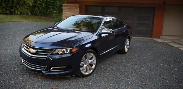 2014 Chevrolet Impala Merritt | A New Luxury Sedan in Alberta