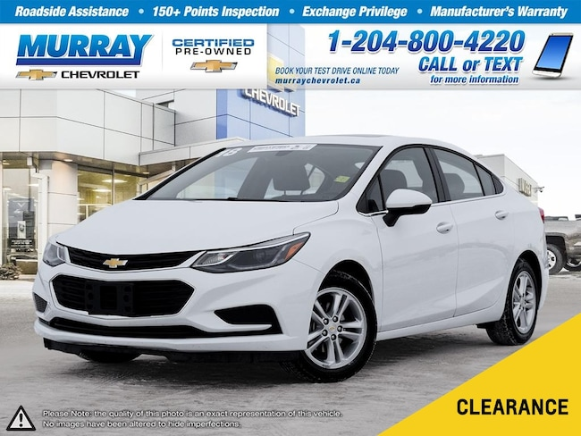 2018 Chevrolet Cruze *Bluetooth, Sunroof, Heated Seats* Sedan