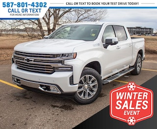 2019 Chevrolet Silverado 1500 High Country w/5.3L V8 & NAV Truck Crew Cab