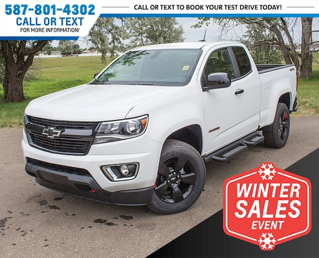2018 Chevrolet Colorado LT 4x4 Redline Edition w/USB & Backup Cam Truck Extended Cab