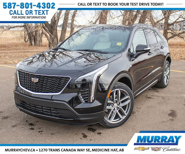 Check Out This 2019 Stellar Black Cadillac Xt4 Sport Awd W Nav