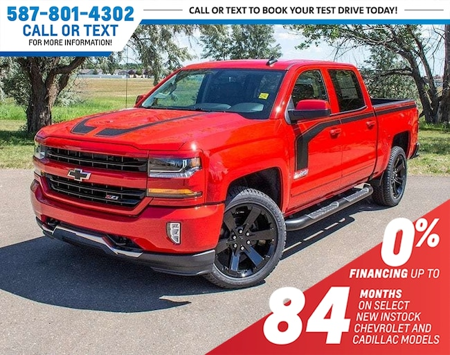 2018 Chevrolet Silverado 1500 LT Z71 RALLY-2 Edition w/Heated Seats Truck Crew Cab