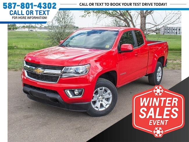 2018 Chevrolet Colorado LT 4x4 w/USB & Backup Cam Truck Extended Cab