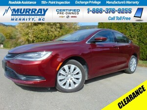 2015 Chrysler 200 LX * No Accidents, Warranty, Automatic  * Sedan