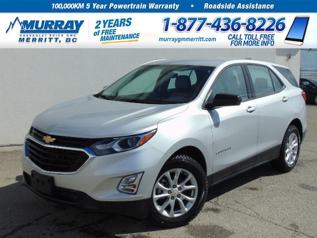 New 2019 Chevrolet Equinox LS * Demo, Bluetooth * Silver Ice