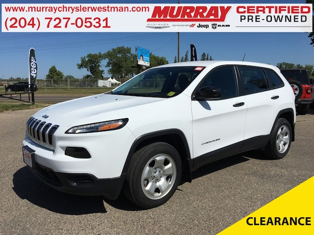 2018 Jeep Cherokee Sport FWD *Accident Free* *LOW KMS* *Touchscreen* SUV