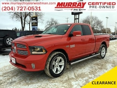 2015 Ram 1500 Quad Cab Sport 4WD *Heated Seats* Truck Quad Cab