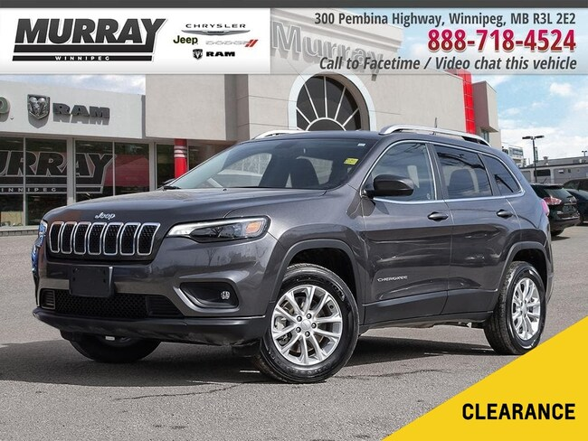 2019 Jeep Cherokee North *Pwr Drvr Seat/Bkp Cam/Keyless Entry* SUV