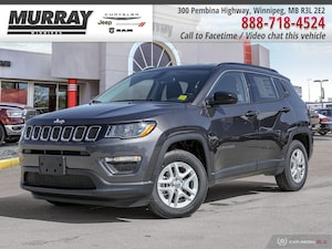 2019 Jeep Compass Sport FWD * Remote Start | Heated Front Seats | Back-Up Cam *