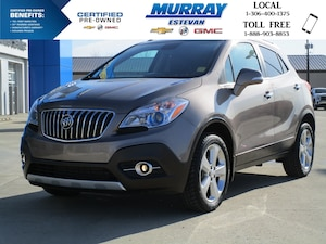 2015 Buick Encore AWD / HEATED LEATHER / LOCAL TRADE / REMOTE START / BACK-UP CAM / GREAT FUEL MILEAGE