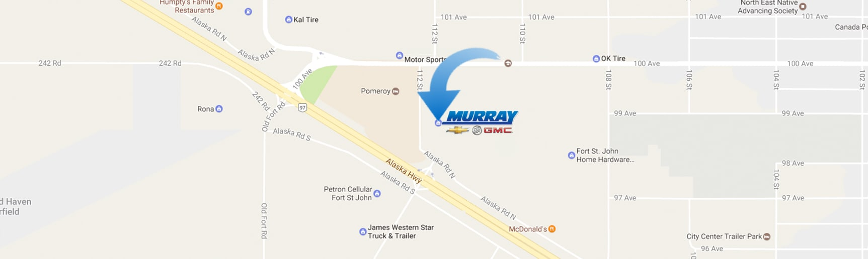 Murray GM Fort St John
