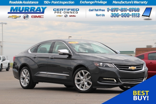 2019 Chevrolet Impala *Lane change alert/Rear cross traffic alert* Sedan