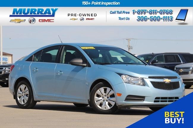 2012 Chevrolet Cruze LS FWD*CLIMATE CONTROL,DRIVER INFO CENTRE* Sedan