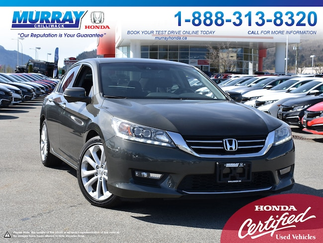 2014 Honda Accord Sedan Touring *LEATHER, NAVIGATION, SUNROOF* Sedan